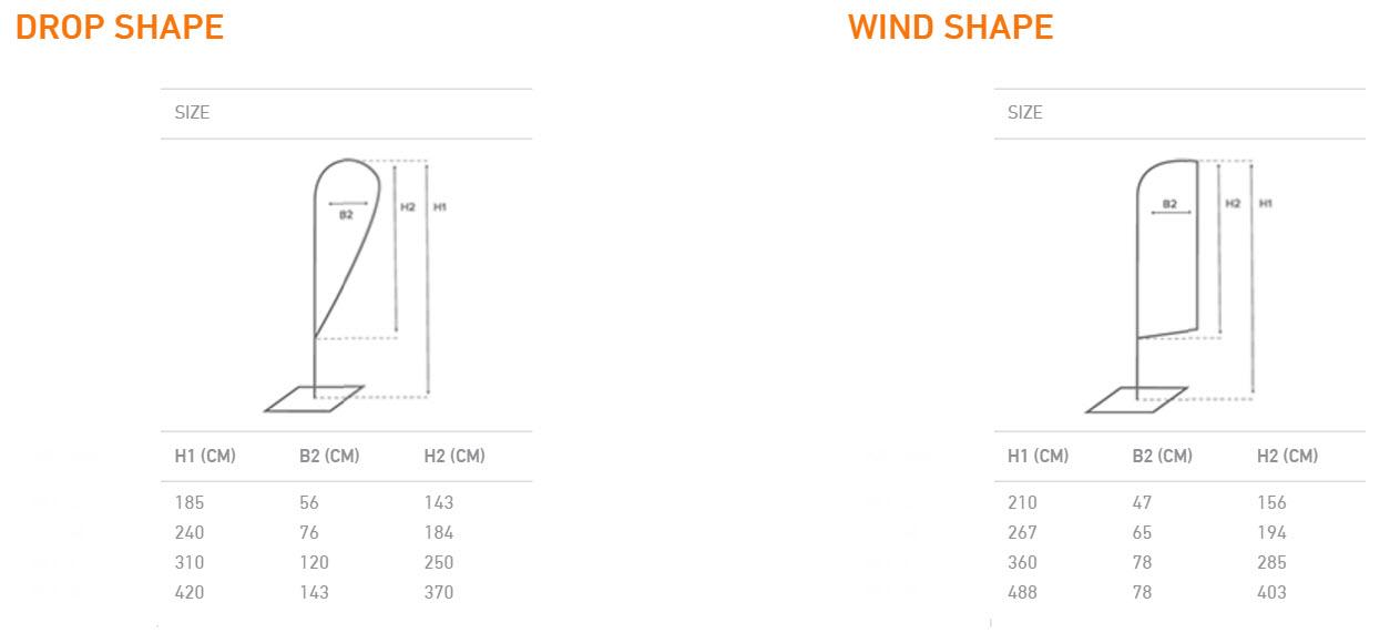 Beach Flag Fiber Wind & Drop-5