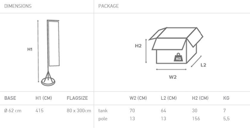 Flagpole 415-06
