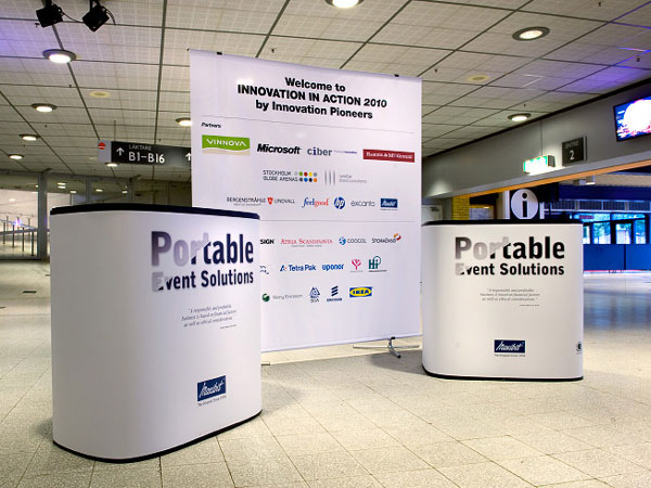 Portable Exhibition Solutions : Scene modular groupco